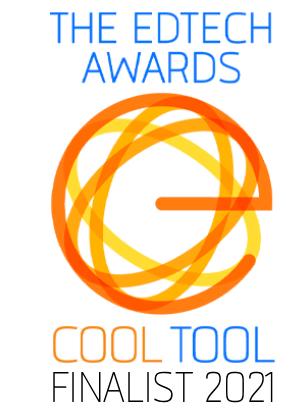 EdTech Awards Cool Tool Finalist 2021 Logo