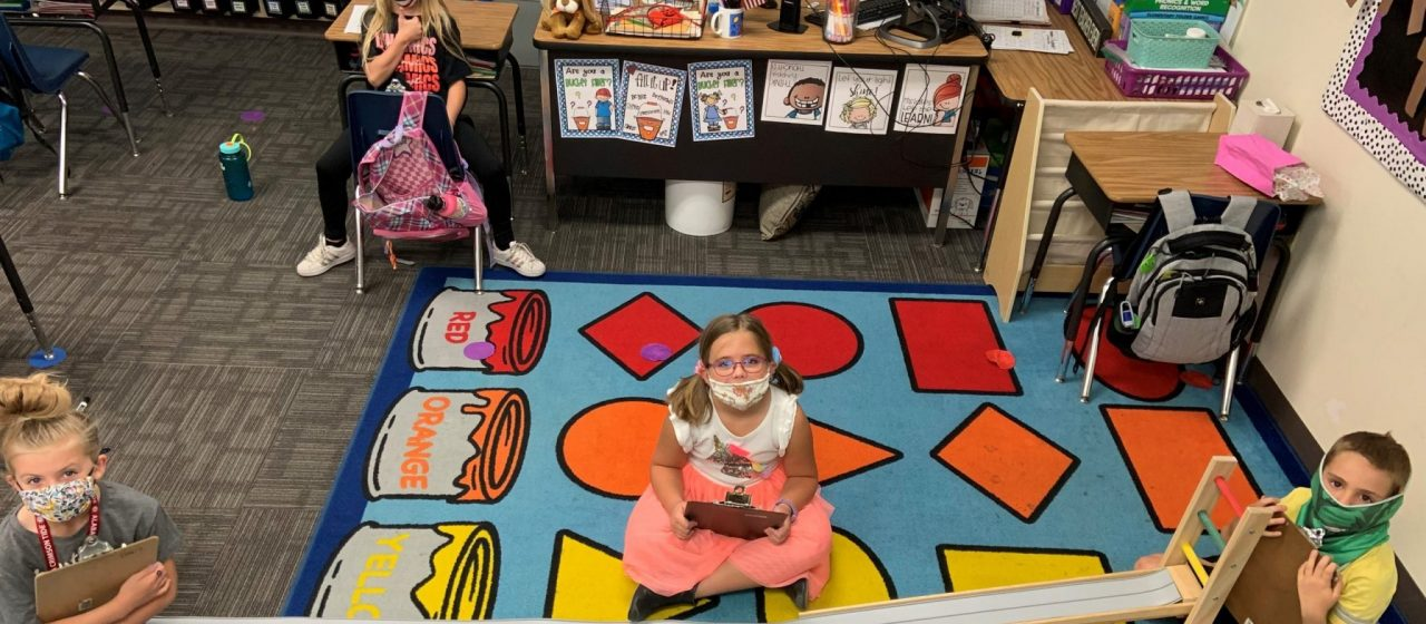AWIM Connects First Graders with Virtual Volunteers in Arizona