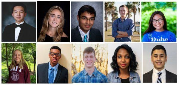 SAE STEM scholarship recipients