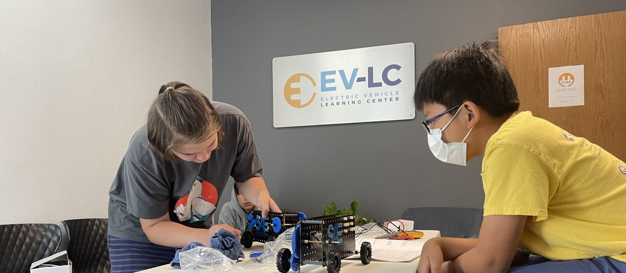 Students Get Creative, Build Fully-Electric Toy Cars at STEM Camp